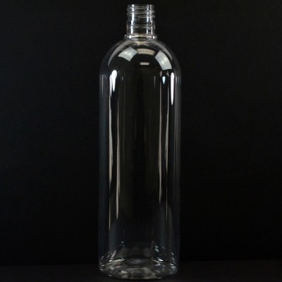 32 oz 28/415 Cosmo Round Clear PET Bottle
