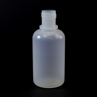 1 oz 20/410 Boston Round Natural LDPE Bottle