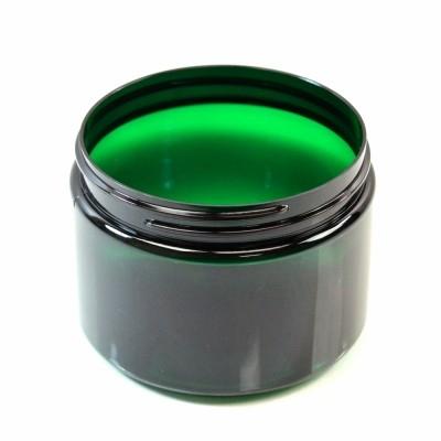 12 oz 89/400 Wide Mouth Emerald PET Jar