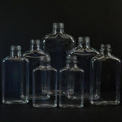 Metric Oblong Plastic Bottles