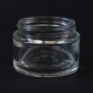 50 ML 53/400 Minerva Clear Glass Jar - 108/case