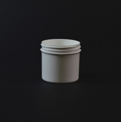 3 oz 58/400 Regular Wall Straight Base White PP Jar