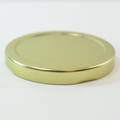 70/2030 Regular Twist Open Gold Metal Cap / Plastisol Liner