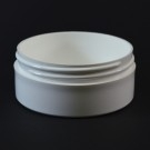 4 OZ 89/400 Thick Wall Straight Base White PP Jar - 165/Case