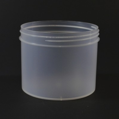 32 oz 120/400 Regular Wall Straight Base Natural PP Jar