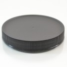 70/400 Black Ribbed Straight PP Cap / PS Liner - 760/Case