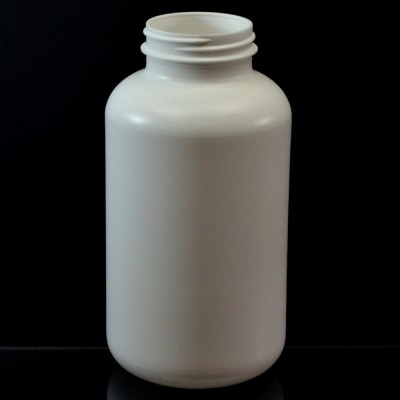 750CC White Nutritional Supplement Packer HDPE 53/400