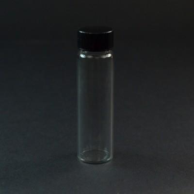 3 DRAM Screw Thread Clear Glass Vial 15/425