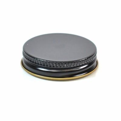 43/400 CT Black Gold Metal Continuous Thread Caps