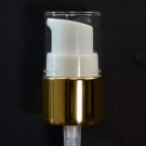22/410 Treatment Pump Shiny Gold/White/Clear Hood