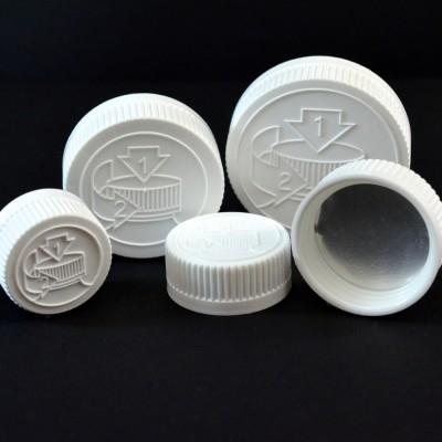 Child Resistant Plastic Caps
