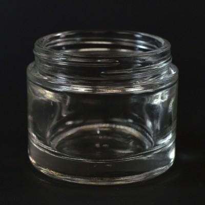 2.3 oz 58/400 Renoir Clear Glass Jar