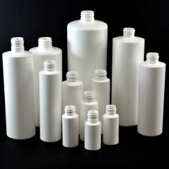 Cylinder Round Plastic Bottles