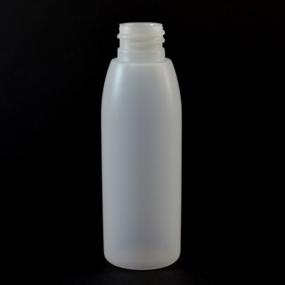 2 oz 20/410 Evolution Round Natural HDPE Bottle