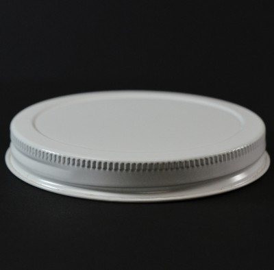 89/400 White-White Metal Cap