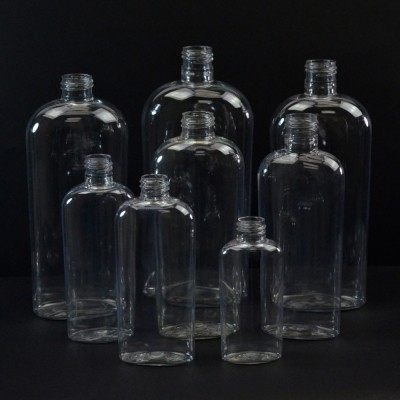 CosmOval Plastic Bottles