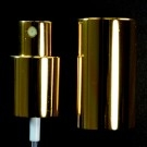 18/415 Fine Mist Sprayer Shiny Gold/Gold Hood
