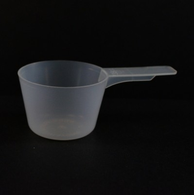 39 cc Plastic Measuring Scoop Natural Short Handle