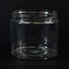 16 oz 89/400 Wide Mouth Clear PET Jar