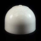 24/410 White Push Pull Dome Dispensing Symmetrical Cap to 8 oz #266