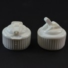 24/410 White Dispensing Spouted Cap PS-104 Valve Seal PP