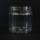 4 oz 58/400 Wide Mouth Clear PET Jar