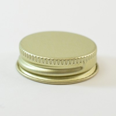33/400 CT Gold Gold Metal Continuous Thread Caps