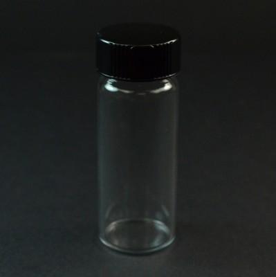 6 DRAM Screw Thread Clear Glas Vial 24/400