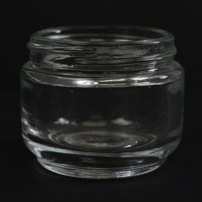 65 ML 53/400 Elegante Clear Glass Jar