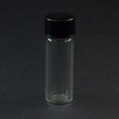 1 DRAM Screw Thread Clear Glass Vial 13/425