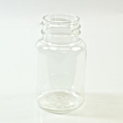 75CC Clear Nutritional Supplement Packer PET 33/400