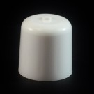 24/410 White Push Pull Soft Radius Dispensing Symmetrical Cap to 2 oz #220