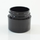 1/4 oz 33/400 Black Thick Wall Straight Base PP Jar
