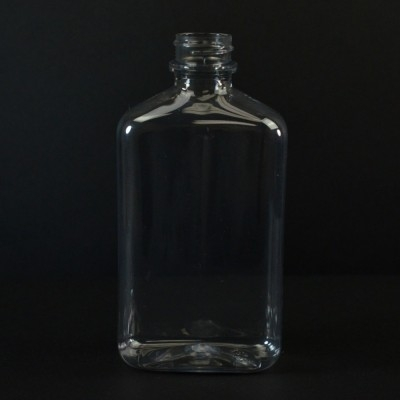 200 ml 24/400 Metric Oblong Clear PET Bottle