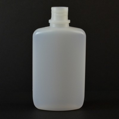 2 oz 18/410 W/R Drug Oval Natural HDPE Bottle