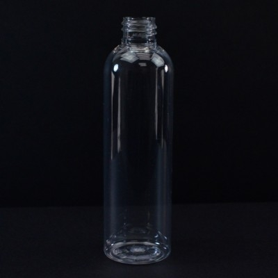 4 oz 20/410 Cosmo Round Clear PET Bottle