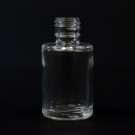 1/4 oz 15/415 Cylinder Clear Glass Bottle