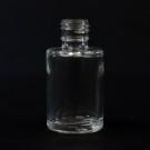1/4 oz 15/415 Cylinder Clear Glass Bottle