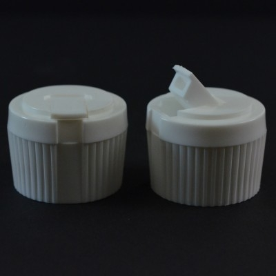 28/410 White Dispensing Spouted Cap PS-134 Land Seal PP