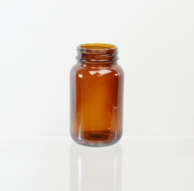 150CC 45/400 Amber Glass Nutritional Supplement Packer