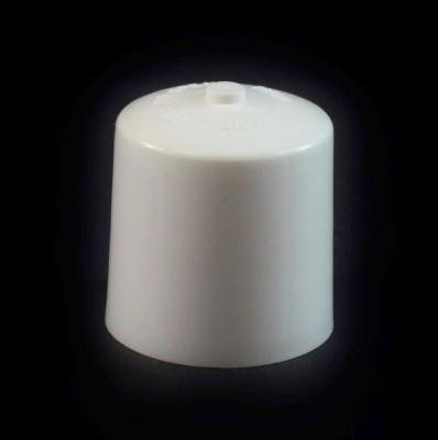 24/410 White Push Pull Convex Dispensing Symmetrical Cap to 2 oz #203