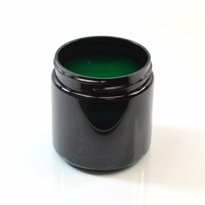 4 oz 58/400 Wide Mouth Emerald PET Jar