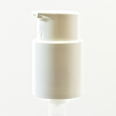 22/410 Treatment Pump Straight Sided 2 Piece White