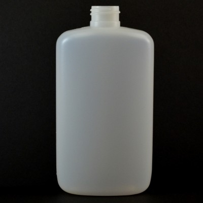 10 oz 24/410 Drug Oval Natural HDPE Bottle