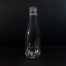 12 oz 24/410 Champagne Clear PET Bottle