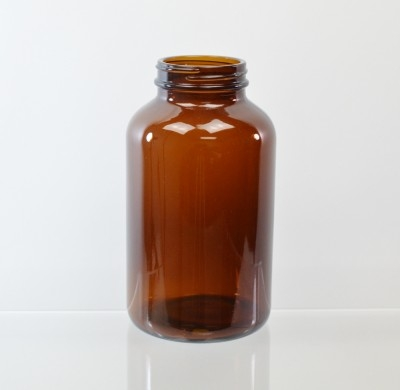 625CC 53/400 Amber Glass Nutritional Supplement Packer