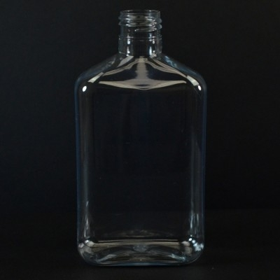 250 ml 24/410 Metric Oblong Clear PET Bottle