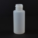 1 oz 20/410 Tall Cylinder Round Natural HDPE Bottle