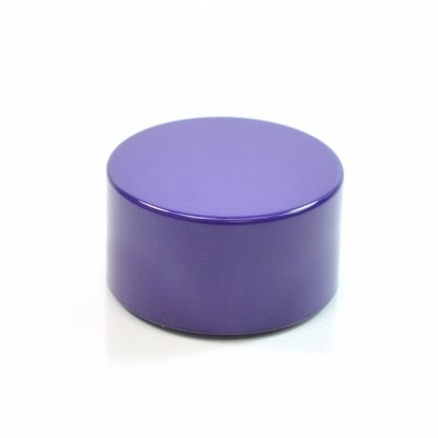 22/400 Purple Metal Overshell Tube Cap 1.5 x .800