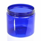 16 oz 89/400 Wide Mouth Cobalt Blue PET Jar